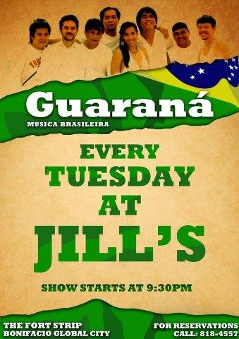 GUARANA at JILL'S
